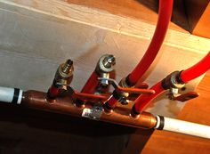 1000 images about plumbing on pinterest heating systems for Connecting pex to water heater