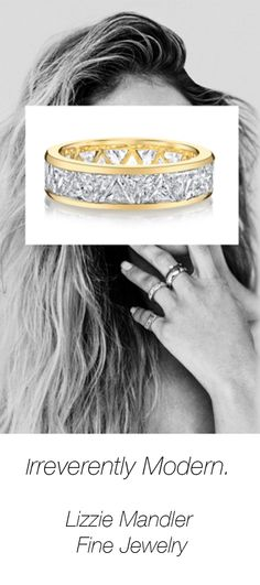 Founded In 2017 Lizzie Mandler Fine Jewelry Is A Modern Luxury Brand That Embos