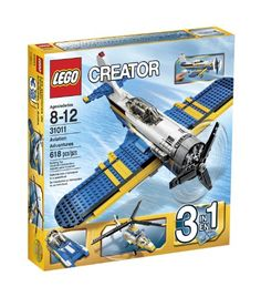 Perform the coolest most daring aerial maneuvers with the Aviation Adventures set. Move the tail wheel of this highly detailed propeller plane back and forth to prime the 8-cylinder radial engine and...