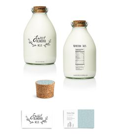 Almond Milk #beverage #foodpackaging