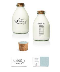 Almond Milk #beverage #foodpackaging