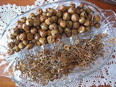 make rusty bells and pins