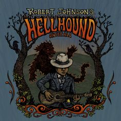 Robert Johnson's Hellhound On My Ale – Dogfish Head Beer Label