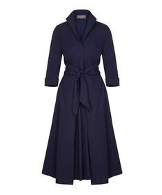 5087c12240a Nigella Bright Blue Stretch Luxe Dress by BombshellHQ - This gorgeous 3 4  Sleeve Scoop