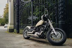 Yamaha dragstar xvs400 custom bobber from Russia