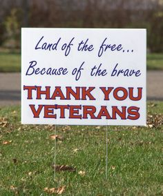 Veterans' Day Sign Words to think about! Thank you, heros! Church Sign Sayings, Church Signs, Veterans Day Quotes, Thank You Veteran, Independance Day, Thing 1, Land Of The Free, Support Our Troops, American Pride
