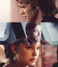Anakin, Padme and Obi Wan ~ Star Wars