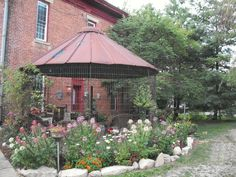 (1) Hometalk :: Myra's Gazebo From a Corn Crib--now that's what I call upcycling!