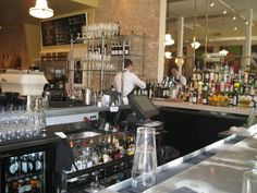 Annie's Cafe and Bar, Austin, TX - great zinc bar