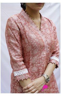 Simple Kurta Designs, New Kurti Designs, Churidar Designs, Kurta Designs Women, Kurti Designs Party Wear, Salwar Neck Designs, Neck Designs For Suits, Sleeves Designs For Dresses, Neckline Designs