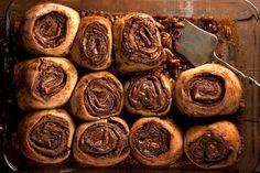 Baking with Nutella: Gooey Chocolate Hazelnut Buns | Shine Food - Yahoo! Shine