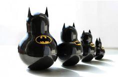 Batman Nesting Dolls ♥ @bree