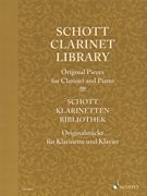 Schott Clarinet Library - Original Pieces for Clarinet and Piano