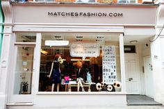 Don't miss the windows of MATCHESFASHION.com curated by David Longshaw & inlcuding fashion-loving mouse Maude! SS14 @TopCashback