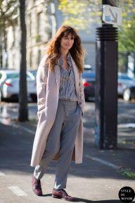 Paris FW SS15 Street Style: Caroline de Maigret