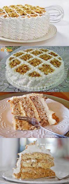 Cake with olives and feta - Clean Eating Snacks Food Cakes, Cupcake Cakes, Sweet Recipes, Cake Recipes, Chocolate Hazelnut Cake, Portuguese Desserts, Cake Decorating Tutorials, Holiday Cakes, Fancy Cakes