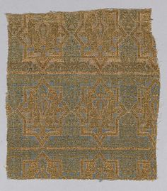 Fragment of a Chasuble  Object Name: Fragment Date: 13th century Geography: Spain