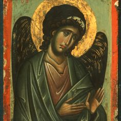 Archangel Michael, The Sinai Icon Collection Byzantine Icons, Byzantine Art, Religious Icons, Religious Art, Gabriel, Best Icons, Archangel Michael, Icon Collection, Orthodox Icons
