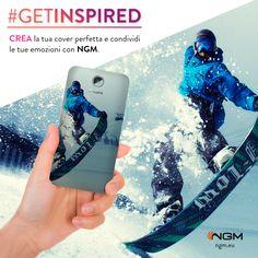 #Ngm rende unici i tuoi ricordi e dà spazio alla tua creatività. Ora puoi personalizzare il tuo smartphone con le tue immagini, foto o dediche più belle ed emozionanti. #GetInspired