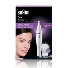 FREE Braun Face 2-in-1 Facial Epilator - Gratisfaction UK Freebies #freestuff #freebies