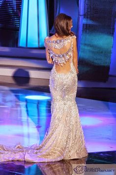 edymar martinez in beautiful gown., miss venezuela international