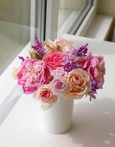 Bouquet Provence .cold porcelain bouquet of roses Flower