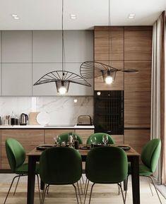 38 Elegant and Luxurious Kitchen Design Ideas 18 Luxury Kitchens Design Elegant Ideas Kitchen Luxurious Kitchen Room Design, Modern Kitchen Design, Dining Room Design, Home Decor Kitchen, Interior Design Kitchen, Home Design, Kitchen Designs, Interior Lighting Design, Kitchen Ideas