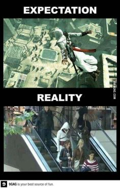 If only we could all do some epic parkour like Ezio