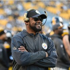 Why the Steelers' Mike Tomlin Finally has a Reason to Smile - November 2015 #Pittsburgh #Sports #MikeTomlin #NFL #Football #Steelers