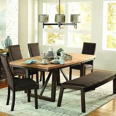 Delwood Extendable Dining Table by Loon Peak 2018 Decor, Table, Extendable Dining Table, Dining Table In Kitchen, Counter Height Dining Table, Dining Furniture, Furniture, Home Decor, Budget Kitchen Remodel