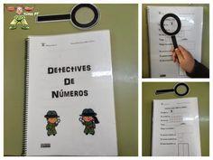 Detective, Montessori, Primary Maths, Teaching Spanish, Anchor Charts, Classroom Organization, Math Activities, Third Grade, Phonics