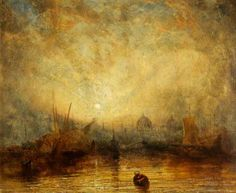 Your Paintings - Joseph Mallord William Turner paintings Joseph Mallord William Turner, Turner Painting, Large Painting, Watercolor Landscape Paintings, Landscape Art, Art Romantique, Your Paintings, Sunset Paintings, Encaustic Art