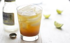 Michelada-cooling mix of fresh squeezed lime juice, savory seasoning and cold beer is all poured over ice – salt rim is optional and a lime wedge constitutes garnish, a drink recipe you should know.