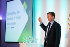 Roger Black giving his inspirational best at the awards. He had the crowed speechless and motivated all in one breath. #ukbusiness #smallbusiness