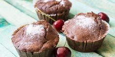 Super einfache Low Carb Schoko-Haselnuss Muffins!