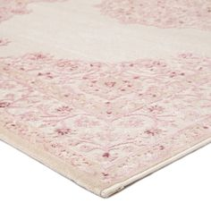 For a more traditional look, lay our Enzo Rug down in your living or dining room. It will not only create a neutral backdrop, but also a soothing building block for your room. White Rug, White Area Rug, Pink White, Room Rugs, Rugs In Living Room, Rug Over Carpet, Jaipur Rugs, Area Rugs For Sale, Rectangular Rugs