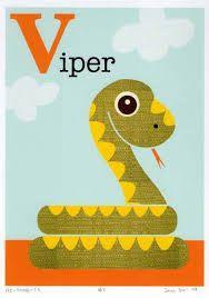 #lettera V - un #abcdario, #alfabeto per imparare con i vostri figli di maniera divertente (•◡•) Tante altre idee cool per le mamme sul sito ❤ mammabanana.com ❤