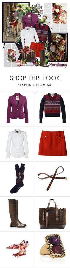 """Style candy"" by helleka ❤ liked on Polyvore featuring Anika, Ralph Lauren, GANT, Oxford, Brooks Brothers, Mantaray, Tory Burch, Dsquared2, Oscar de la Renta and Chanel"