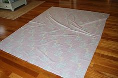How to put your pieced quilt together with batting and backing