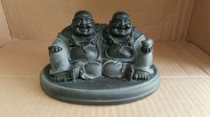 Two Loving Buddha Brothers. Represents Strength As A Team. Double Luck Abundants