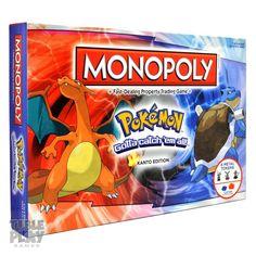 Amazon.com: Monopoly Pokemon: Toys & Games