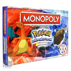 Amazon.com: Monopoly Pokemon: Toys & Games