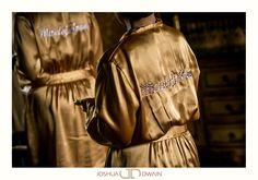 Gold Bridesmaid Robe