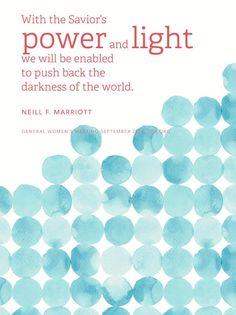 Neill F. Marriott | General Women's Meeting September 2014 #light