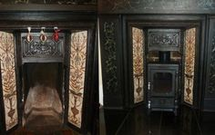 Small Stove Testimonial - The Hobbit Stove Wood Burner Fireplace, Small Fireplace, Fireplace Inserts, Fireplace Surrounds, Fireplace Ideas, Victorian Living Room, Victorian Fireplace, Victorian House, Hobbit Wood Stove