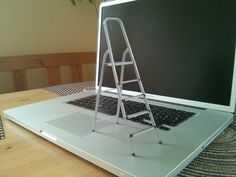 3D-printable scale model of a ladder by CreativeTools - Thingiverse