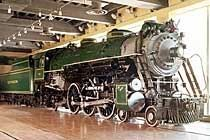 "Southern Railway #1401, a 4-6-2 ""Pacific"" locomotive on permanent display at the Smithsonian Institution in Washington.  This locomotive is notable both for being the last survivor of its type, and for pulling Franklin D. Roosevelt's funeral train."