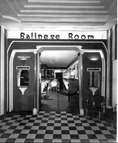 The Balinese Room (gone but not forgotten)