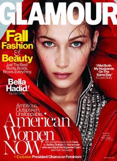 Bella Hadid for Glamour US September 2016 Cover