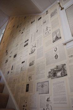 Newspaper Wall